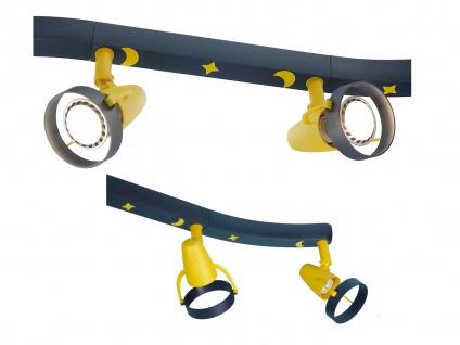 LED Strahlerleiste 70cm 4 Spots schwenkbar Beleuchtung Kinderzimmer Strahler 696 - Vorschau 2