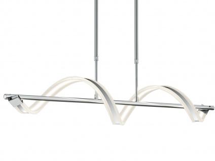 LED Pendelleuchte Hängelampe SYDNEY, Chrom, Acryl, L. 103 cm, dimmbar, Trio - Vorschau 3