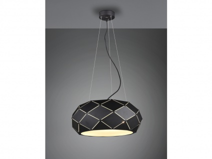 Geometrische Pendelleuchten, schöne Wohnzimmerlampen über Couchtisch Kochinsel