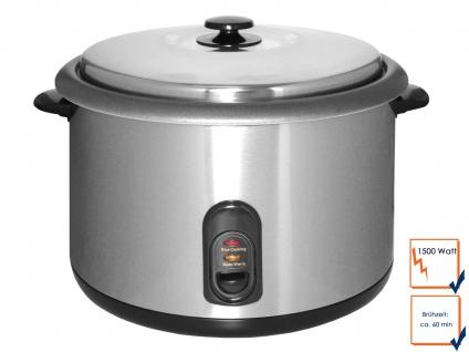 Profi-Reiskocher Reisgarer Kocher Kochtopf Reis Rice Cooker 4, 2 Liter