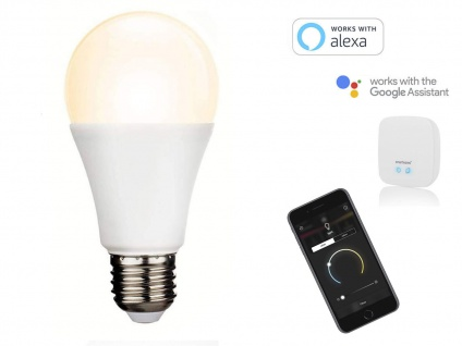 Intelligentes LED Funk Leuchtmittel Smarthome PRO, dimmbar & Farbwechsel per App 4