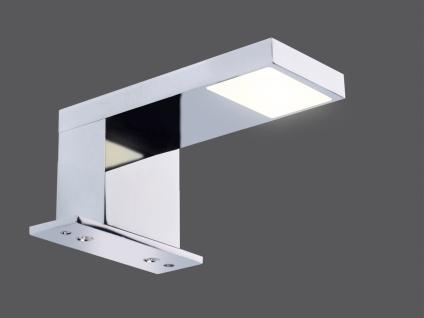 Moderne LED Badleuchte Spiegelleuchte Badezimmerleuchte Feuchtraumleuchte Chrom - Vorschau 3