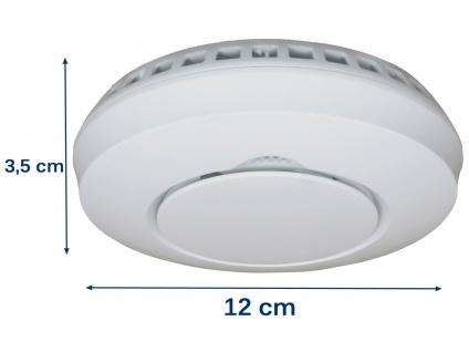 Alarmset: 2x Funkrauchmelder + Hitzemelder, vernetzte Lebensretter Thermomelder - Vorschau 4
