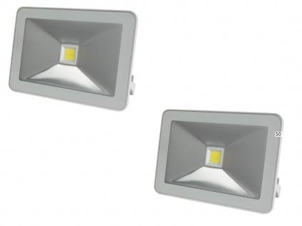 2er Set 50W LED Arbeitsleuchten Strahler weiß, Flutlicht Scheinwerfer Flutlicht - Vorschau 2