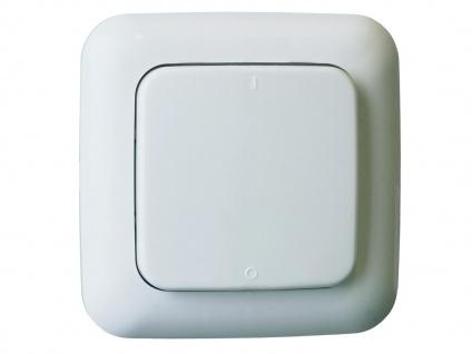 Funk Schalter Set = Mini Funk-Einbauschalter + 2 Funk-Wandschalter Fernbedienung - Vorschau 3