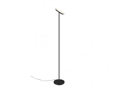 LED Deckenfluter PONDA variabel verstellbar Schwarz Sensor Dimmer, 179cm Ø28cm - Vorschau 2