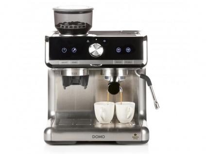 Profi Espressomaschine Barista Kaffeevollautomat mit Mahlwerk & Milchaufschäumer - Vorschau 3