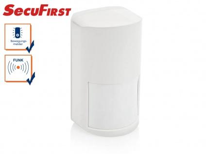 Zusatz Bewegungssensor SecuFirst Alarmsystem, Funk Bewegungsmelder Alarmtechnik