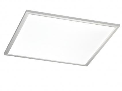 Flache LED Deckenleuchte 60x60 cm eckig Ultraslim Paneel Deckenbeleuchtung Büro