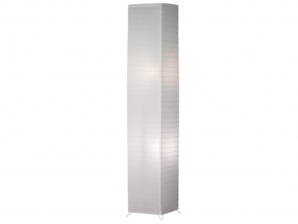 Kleine Zylinder Stehlampe LED mit Papierschirm stehende Lampe für Wohnzimmer