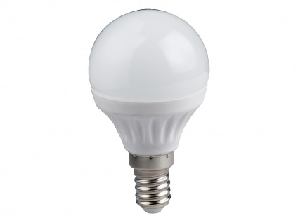 LED Leuchtmittel mit 4W in Warmweiß 320 Lumen, E14, nicht dimmbar, tropfenförmig