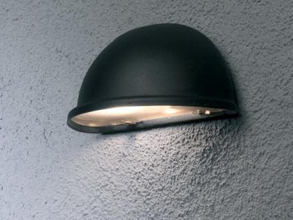 Terrassen Wandleuchte TORINO Schwarz Downlight Außenwandlampen Aussenlicht - Vorschau 3