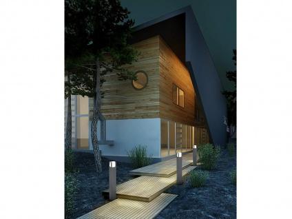 2er SET Gehwegleuchten, 40cm hohe LED Gartenleuchten aus ALU in anthrazit, IP54 - Vorschau 5