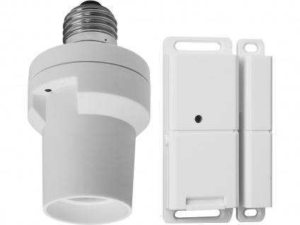 Lampenfassung zur Lichsteuerung mit Magnetsender / Lichtsschranke