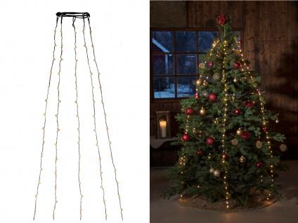 Lichterkette Innen 180 bernsteinfarbene LEDs & Timer Weihnachtsbaum Beleuchtung