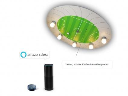 Kinder Deckenleuchte Fußball Stadion Amazon Echo kompatibel LED-Schlummerlicht