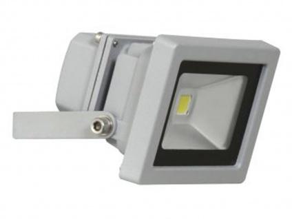 SMD LED Fluter, 10W Aluminium, kaltweiß, witterungsbeständig IP65