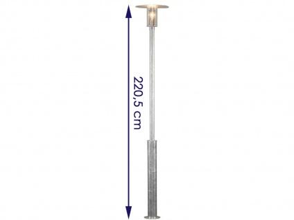 2er Set Konstsmide Außenstehleuchte Mastleuchte MODE, bruchsicher, Lampe außen - Vorschau 2