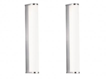 2x LED Wandlampen 30cm für Badezimmer über Badspiegel Badlampen Spiegelleuchten - Vorschau 2