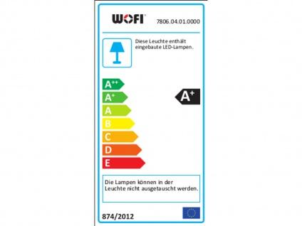 LED Deckenleuchte schwenkbar, Chrom / Acrylglas, Wofi-Leuchten - Vorschau 4