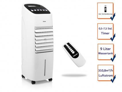 Standventilator mit Sprühnebel Kühlfunktion & Fernbedienung 9Liter Wasserkühlung