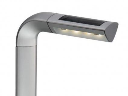 LED Solar Gartenpfosten Bianca, 0, 06W, 50cm, silbergrau, Kunststoff - Vorschau 2