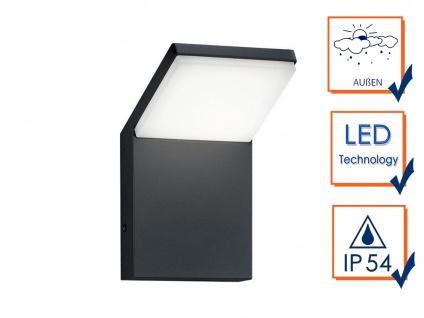 LED Außenwandlampen Anthrazit 2er Set Außenleuchten Hausbeleuchtung Außenbereich - Vorschau 3