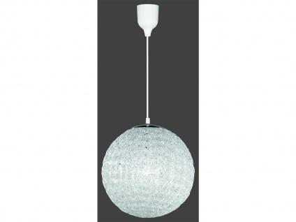 Klassische Pendelleuchte, 1 x E27, Ø 30cm, Länge 150 cm, Acryl klar