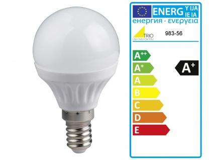 LED Hängeleuchte dimmbar, Metall in schwarz, 6 verstellbare Spots, Esstischlampe - Vorschau 5