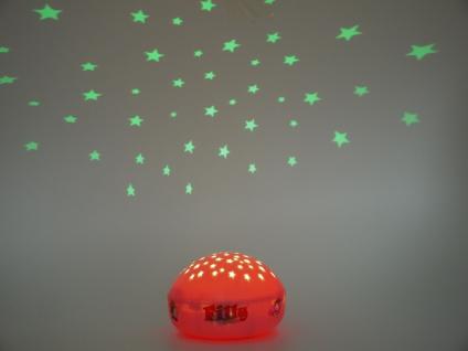 LED Nachtlicht Einhorn Filly Sternprojektor LED-Farbwechsler mit 3 Farben Ø12cm