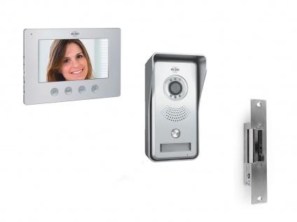IP Video Türsprechanlage mit Monitor & Türöffner, Wlan Klingelanlage Smartphone