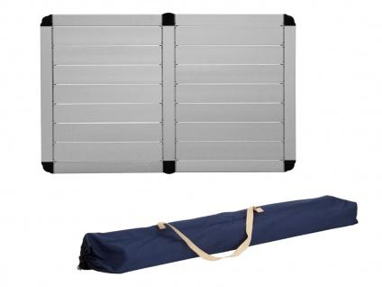 SET mit: Campingtisch und 2er klappbare Campingstühle - stabiler ALU Rolltisch - Vorschau 4