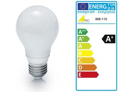 LED Pendelleuchte dimmbar, Stoffschirm oval weiß Dekor, E27 Pendel Esstischlampe - Vorschau 5