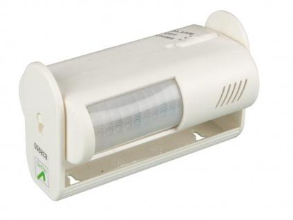PIR-Bewegungsmelder mit Alarm, 8m/60°, Kleiner Bewegungsmelder Sensor Melder - Vorschau 2