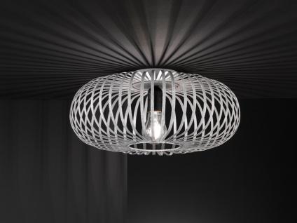 Moderne Metallgitter Deckenleuchte mit LED - Wohnzimmerlampe & Schlafzimmerlampe
