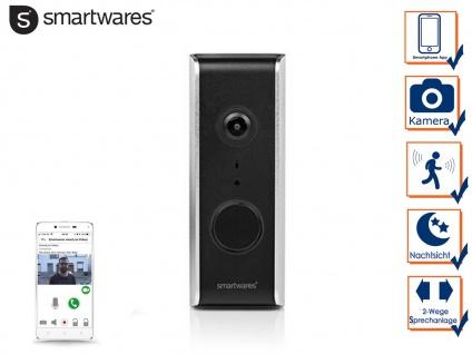 WiFi Videotürklingel HD Kamera, Haussprechanlage mit Nachtsicht, Smartphone App - Vorschau 3