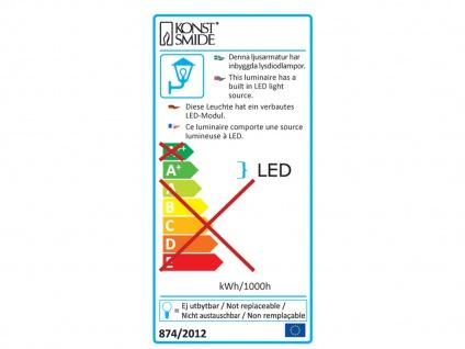 Außenwandleuchte LATINA Bewegungsmelder IP54, 3W LED, 350Lm 7937-370 - Vorschau 4