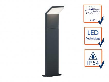 LED Pollerleuchte in Anthrazit 50cm - 3er Set Wegeleuchten Terrassenbeleuchtung - Vorschau 2