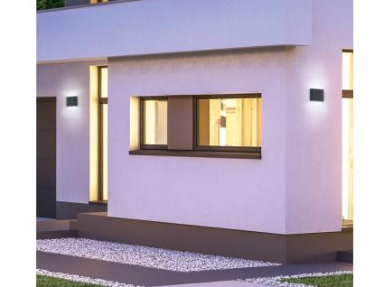 LED Fassaden Außenwandbeleuchtung Up and Down Anthrazit - Wandleuchte für Aussen - Vorschau 5