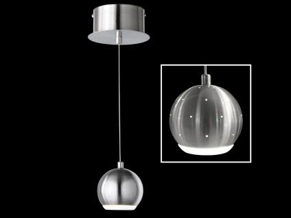 Honsel LED Pendelleuchte dimmbar PINO Design Lichtpunkte, Hängeleuchte Kugel