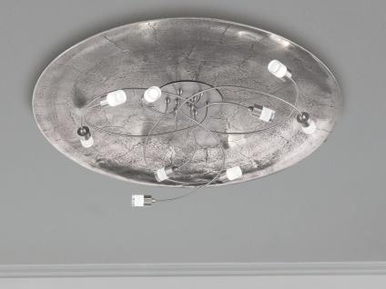 Runde mehrflammige LED Deckenleuchte Ø75cm dimmbar mit Wandschalter, Deckenlicht