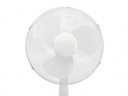 Weißer Tischventilator 3 Stufen Ø 40cm oszillierend Luftkühler leise Lüfter - Vorschau 5