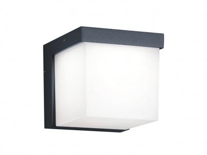Eckige LED Außenwandleuchten Anthrazit 2 Außenleuchten für Hauswand Außenbereich - Vorschau 4