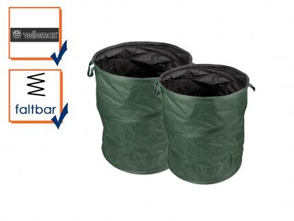 POP-UP Gartenabfallsack Set mit Griffen von PEREL, Kapazität 175L und 85L