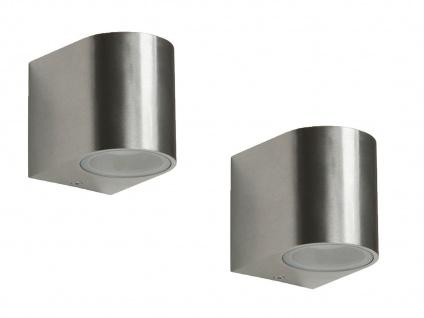 2er Set Ranex SMD-LED Wandleuchte Metall, downlight, IP44, 230Lm - Vorschau 1