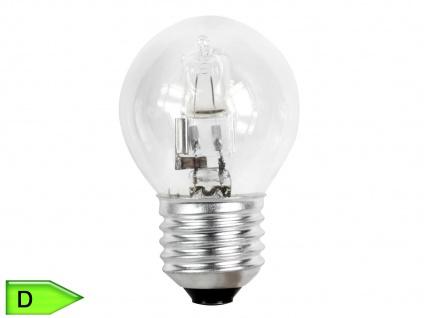 Halogen Leuchtmittel 46 Watt warmweiß dimmbar E27-Sockel Energieklasse C