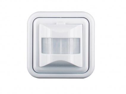 Bewegungsmelder Unterputz, Erkennungsbereich 160°, geeignet für LED Leuchtmittel