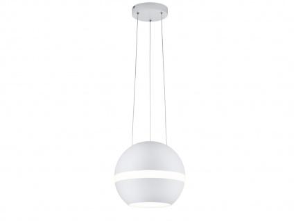 LED Pendelleuchte Kugel Lampenschirm Weiß matt Ø 30cm dimmbar - Esstischlampen