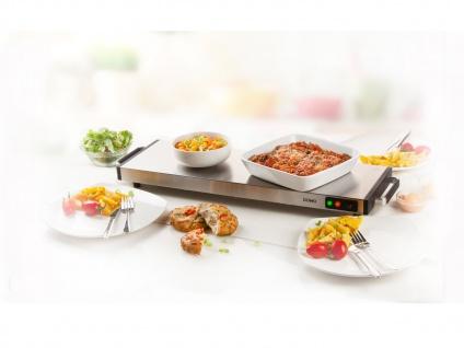 Elektrische Warmhalteplatte für den Tisch ohne Kabel, Tellerwärmer Speisenwärmer