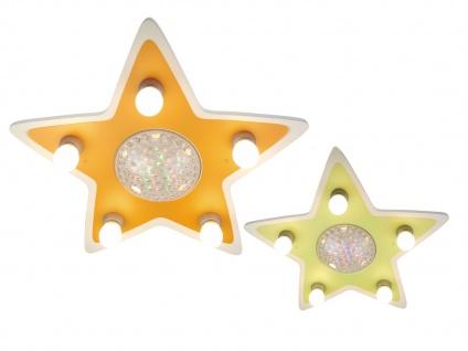 LED Kinder Deckenleuchte Stern Lampe Kinderzimmer 4 Farben zaubern Lichteffekte - Vorschau 3